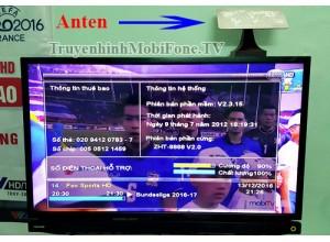 Lắp đặt Anten MobiTV ngay trong nhà có ảnh hưởng đến sức khỏe ?