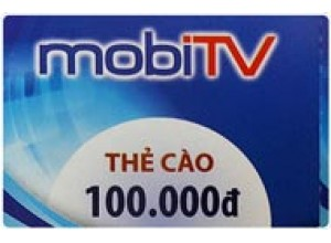 Khuyến Mại Khi Gia hạn MobiTV Bằng Thẻ Cào
