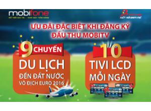 EURO 2016! Cuồng nhiệt cùng MobiTV