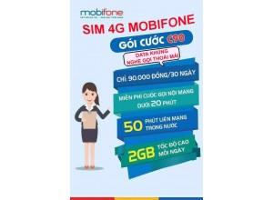 Siêu Sim MobiFone C90N | Gọi Miễn Phí Các Mạng + Tặng 120 Gb/Tháng