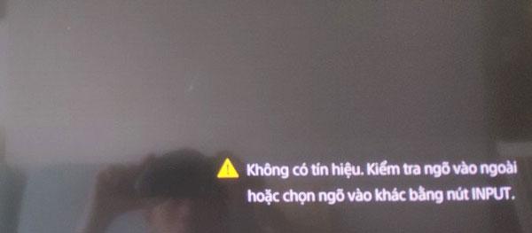 Truyền hình an viên không có tín hiệu 4