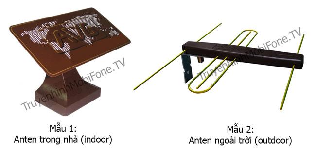 Hai mẫu anten MobiTV