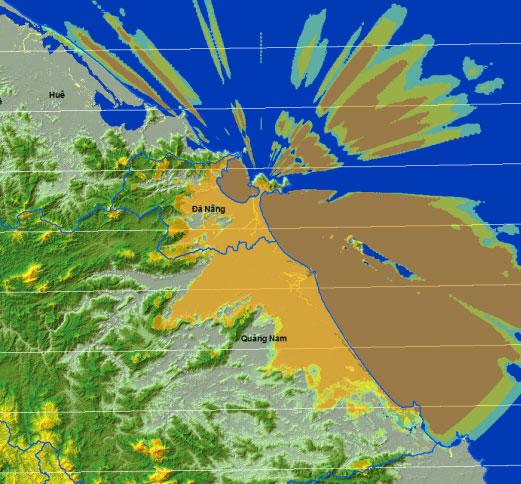 Bản đồ phủ sóng MobiTV Tại Đà Nẵng