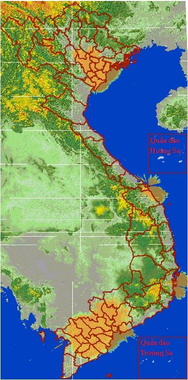 Bản đồ phủ sóng MobiTV toàn quốc