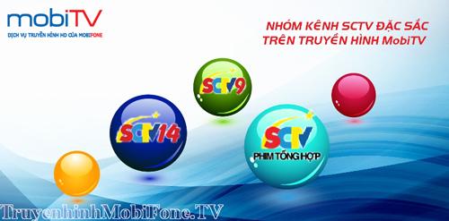 Goi Kenh SCTV trên MobiTV