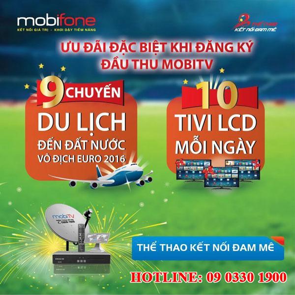 MobiTV khuyến mại euro 2016