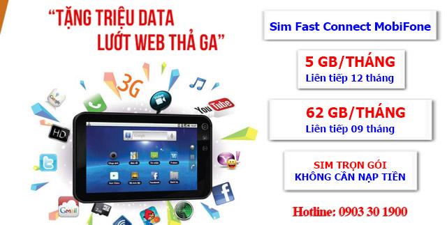 Sim 3G 4G MobiFone F500